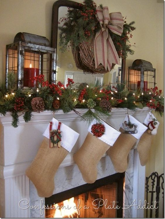 Rustic-Stocking